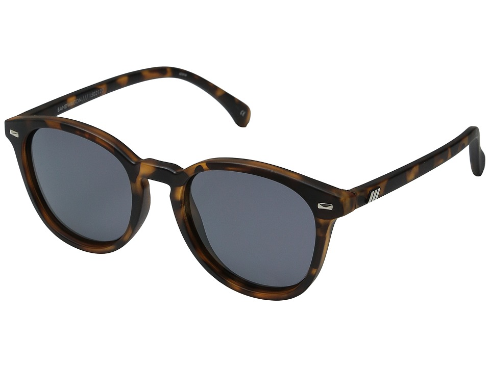 Le Specs Bandwagon (Matte Tortoise) Fashion Sunglasses