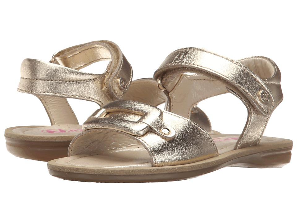 Naturino Nat. 3935 SS16 Toddler/Little Kid/Big Kid Gold Girls Shoes
