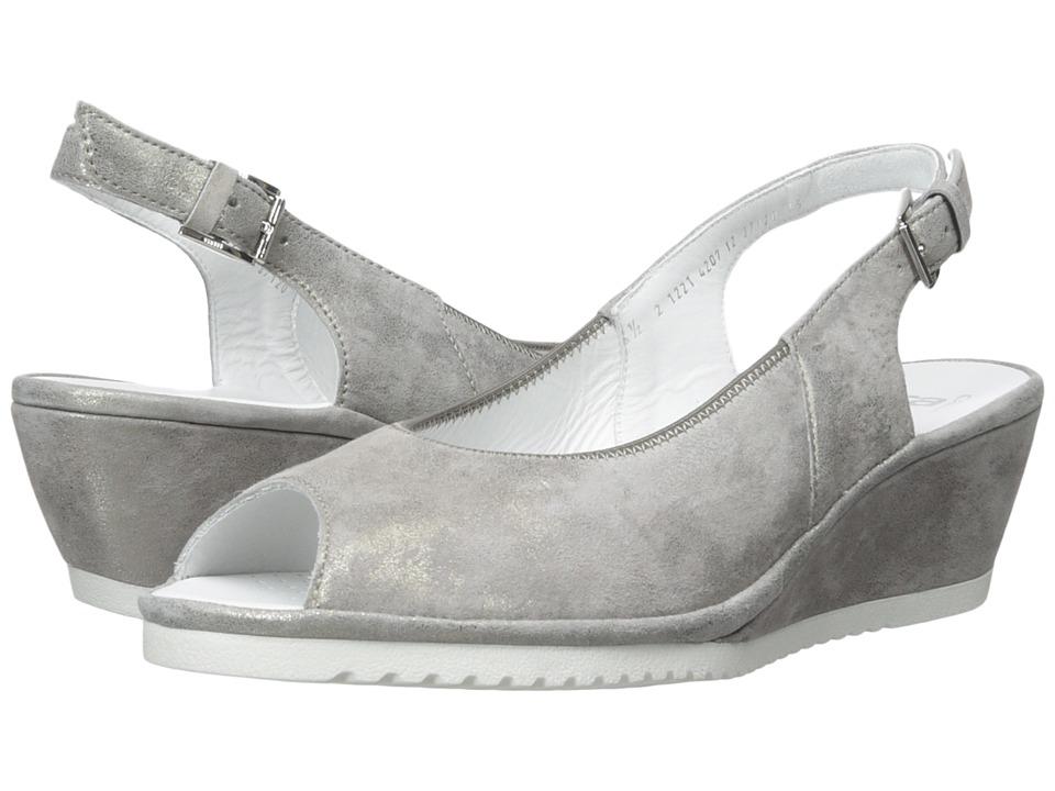 ara - Colleen (Grey Metallic Suede) Women