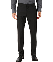 Perry Ellis - Slim Fit Tonal Mini Check Flat Front Pants