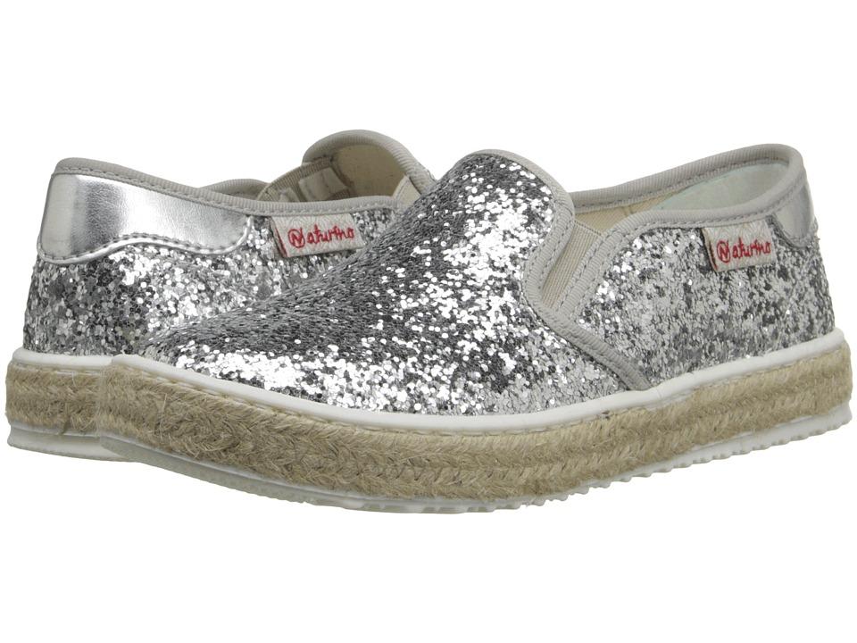 Naturino Nat. 8089 SS16 Toddler/Little Kid/Big Kid Silver Girls Shoes