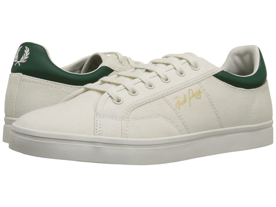 Fred Perry - Sidespin Canvas (Porcelain/Ivy) Men