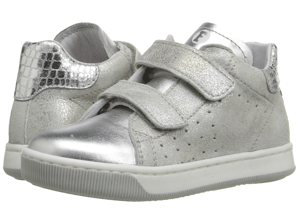 Naturino Falcotto Smith VL SS16 Toddler Silver Girls Shoes