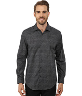 Perry Ellis - Long Sleeve Diamond Print Shirt