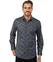 Perry Ellis - Long Sleeve Exclusive Floral Print Shirt