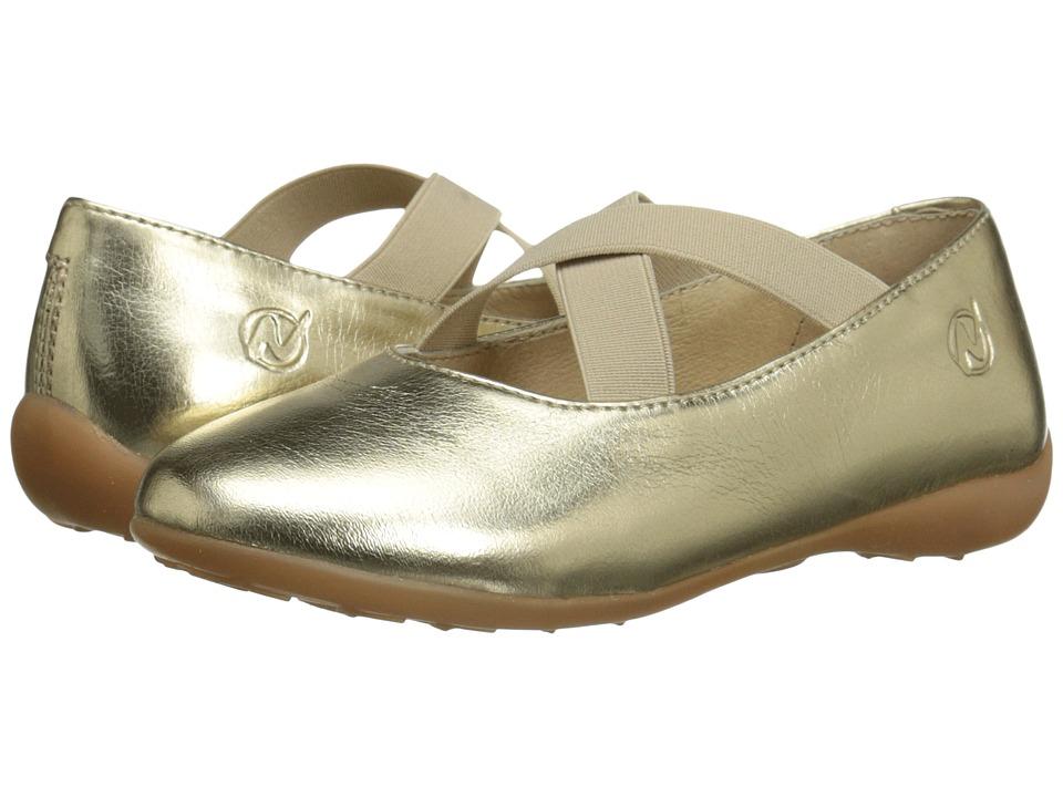 Naturino Nat. 2815 SS16 Toddler/Little Kid/Big Kid Gold Girls Shoes