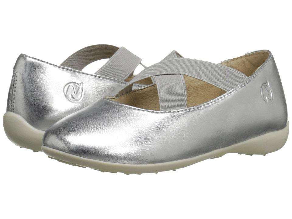 Naturino Nat. 2815 SS16 Toddler/Little Kid/Big Kid Silver Girls Shoes