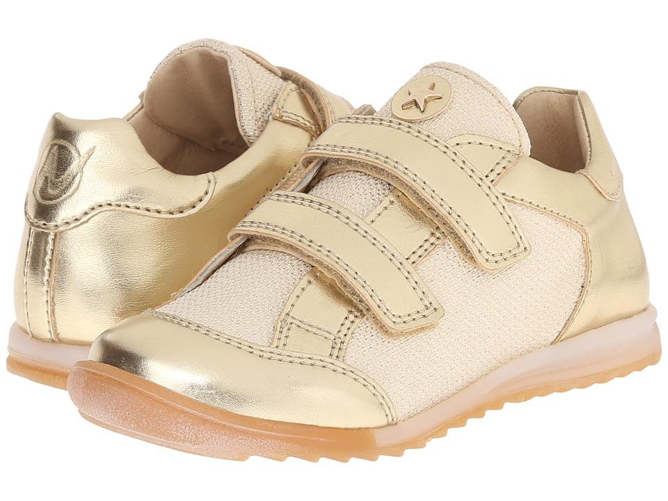 Naturino Nat. Ana VL SS16 Toddler/Little Kid/Big Kid Gold Girls Shoes