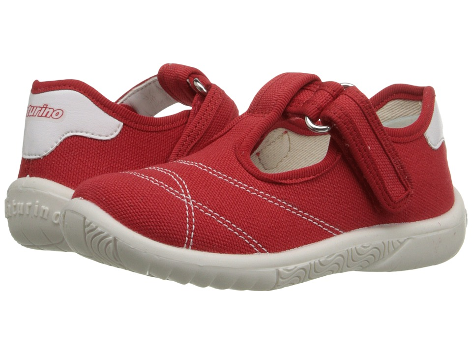 Naturino Nat. 7742 SS16 Toddler/Little Kid Red Girls Shoes