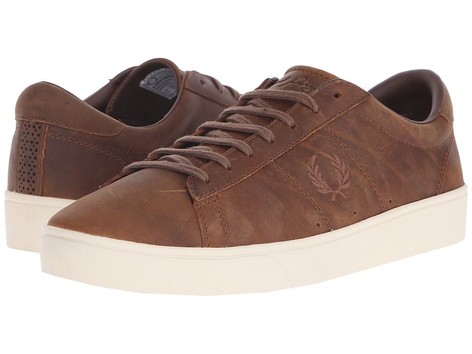 Fred Perry - Spencer Waxed Leather (Oak Tan) Men