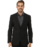 Perry Ellis - Slim Fit Tonal Mini Check Suit Jacket