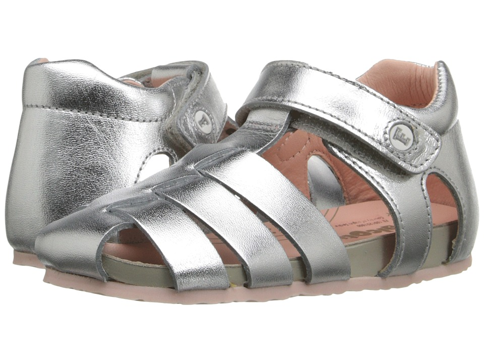 Naturino Falcotto 1405 SS16 Toddler Silver Girls Shoes