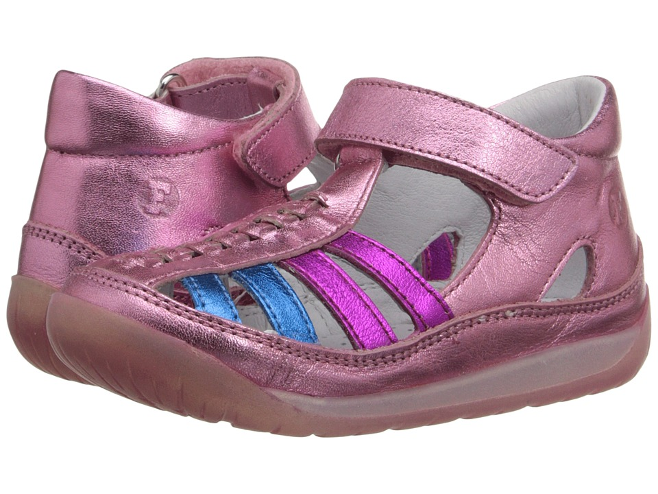 Naturino Falcotto 1454 SS16 Toddler Pink Multi Girls Shoes