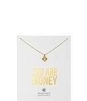 Dogeared - You Are Money Diamond Charm Necklace