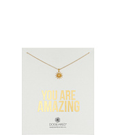 Dogeared - You Are Amazing Starburst Necklace