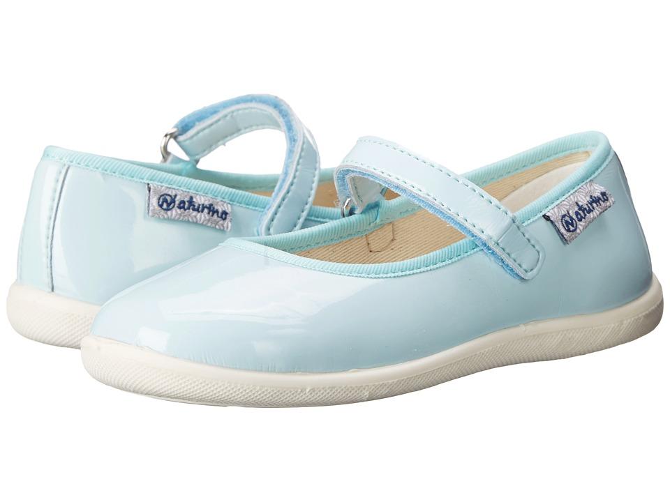 Naturino Nat. 7944 USA SS16 Toddler/Little Kid/Big Kid Aqua Girls Shoes