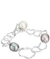 Majorica - Baroque Pearl Hammered Bracelet