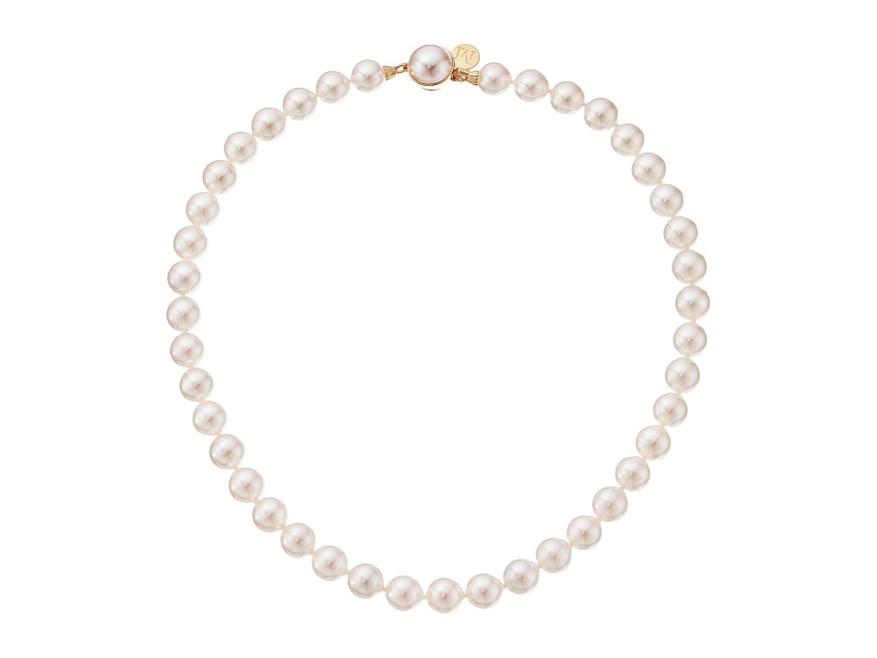 Majorica - 10mm Pearl Strand Necklace