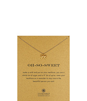 Dogeared - Oh-So-Sweet Bow Reminder Necklace