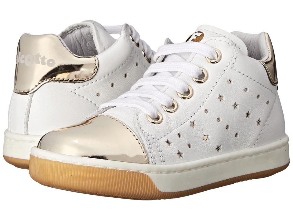 Naturino Falcotto Starlett SS16 Toddler White/Gold Girls Shoes
