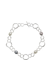 Majorica - Baroque Pearl Hammered Necklace