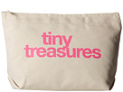 Dogeared Tiny Treasures Lil Zip (Canvas/Pink)