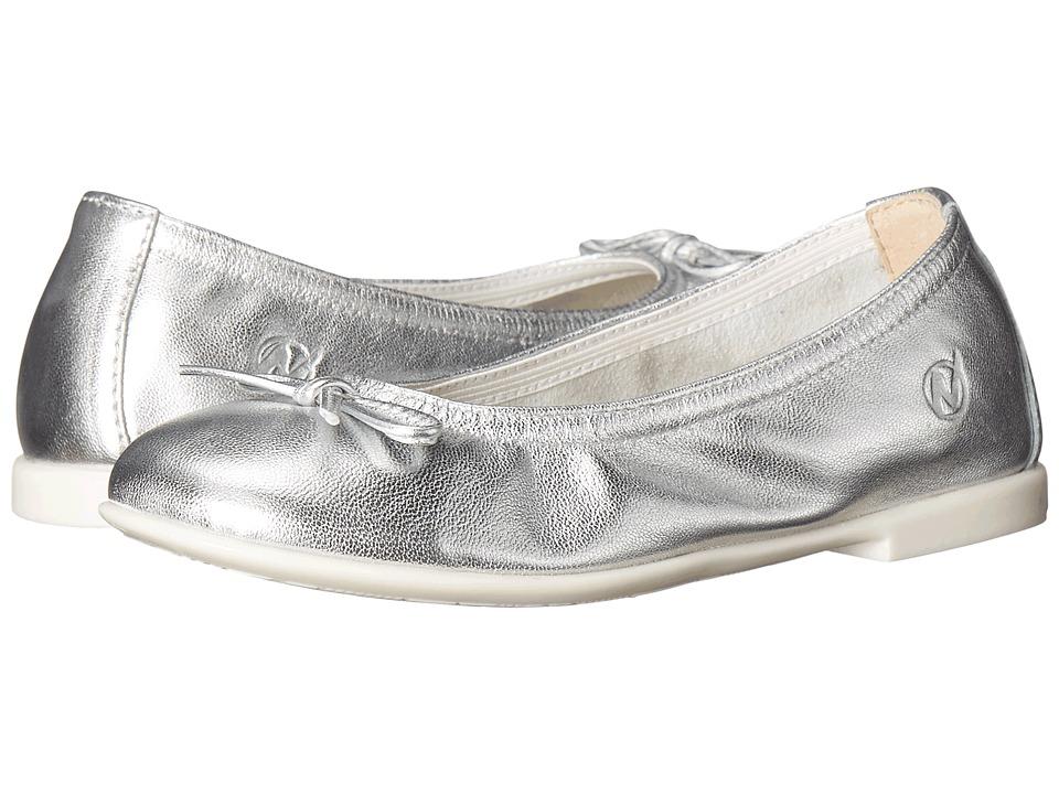 Naturino Nat. 2353 SS16 Toddler/Little Kid/Big Kid Silver Girls Shoes