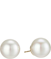 Majorica - 14mm Round Pearl Stud Earrings