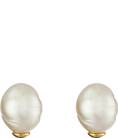Majorica - Baroque Pearl Stud Earrings