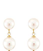 Majorica - Double Pearl Drop Earrings