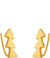 gorjana - Matte Triangle Ear Climber Earrings