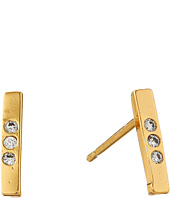 gorjana - Taner Bar Shimmer Mini Studs Earrings