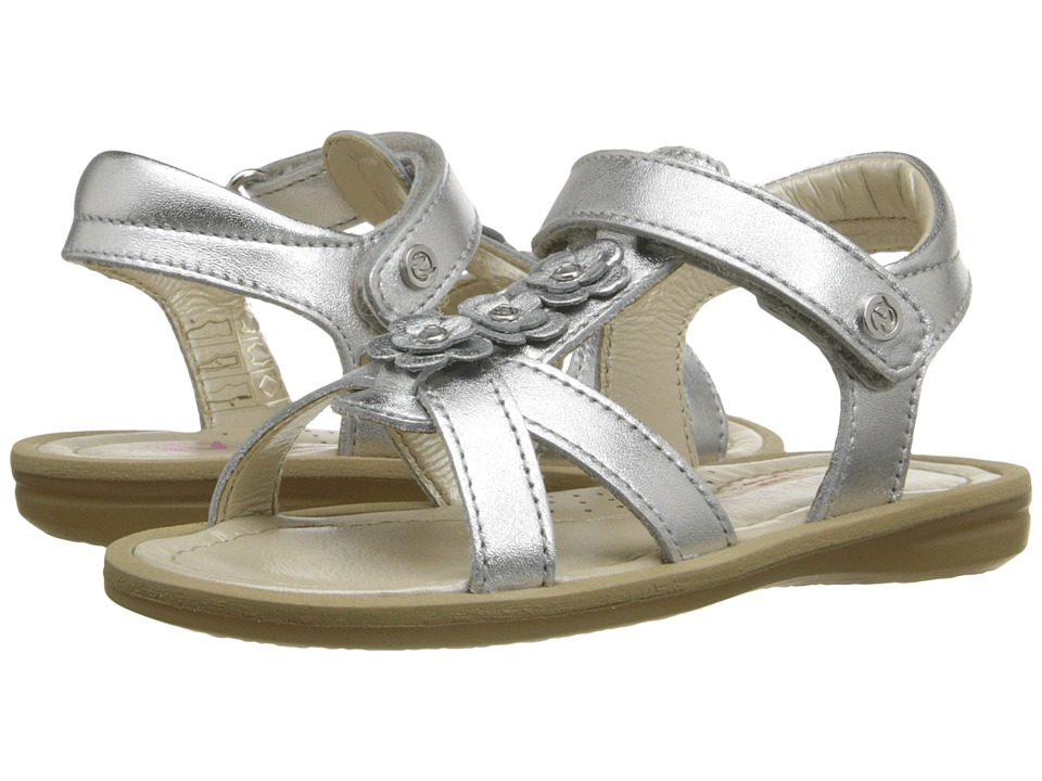 Naturino Nat. 3938 SS16 Toddler/Little Kid/Big Kid Silver Girls Shoes
