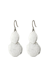 Lucky Brand - Hammered Double Drop Earrings
