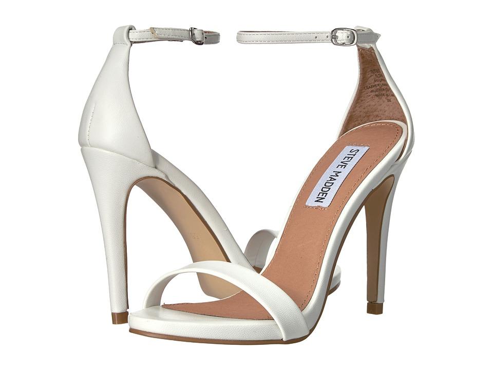 Steve Madden Stecy White High Heels