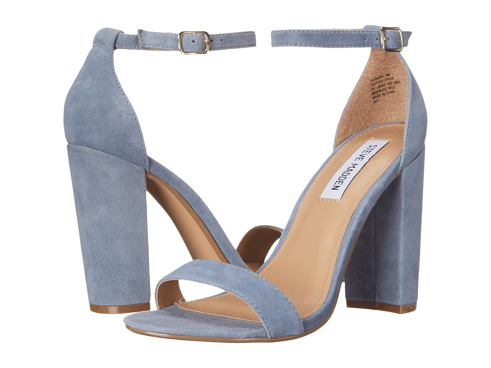 Steve Madden Carrson (Blue Suede) High Heels