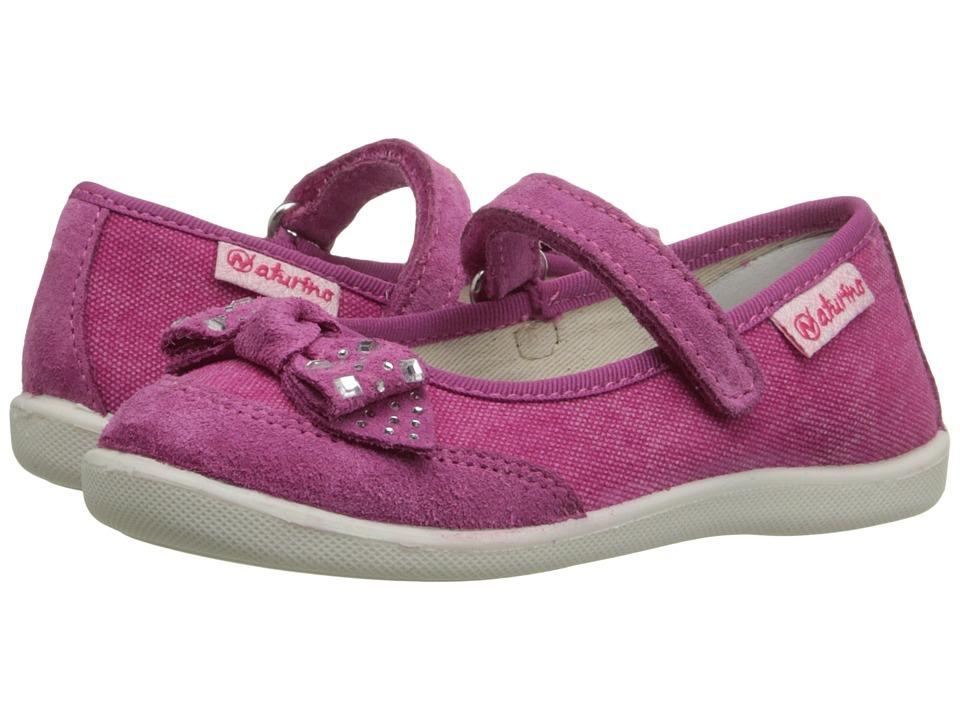 Naturino Nat. 8085 SS16 Toddler/Little Kid Fuchsia Girls Shoes