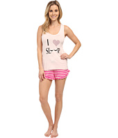Betsey Johnson - Rayon Knit Short Set