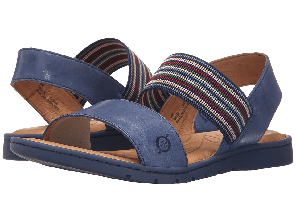 Born Parson Ocean Full Grain Leather Womens Sandals