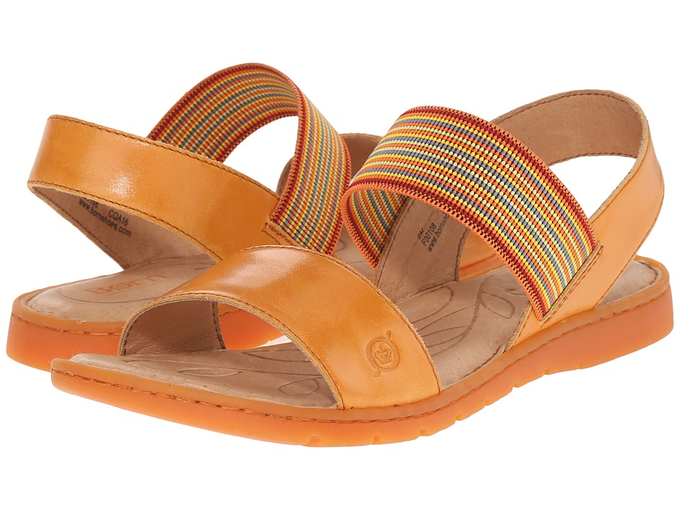 Born Parson Mango Full Grain Leather Womens Sandals