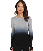 Trina Turk - Ombre Jersey Twist Back Long Sleeve Top