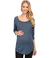 COZY ORANGE - Maternity Rue Top