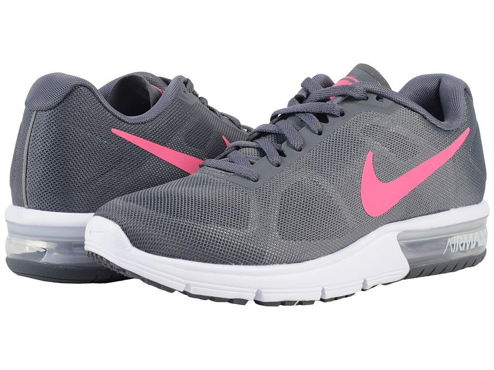 Nike Air Max Sequent (Dark Grey/White/Black/Hyper Pink) Women