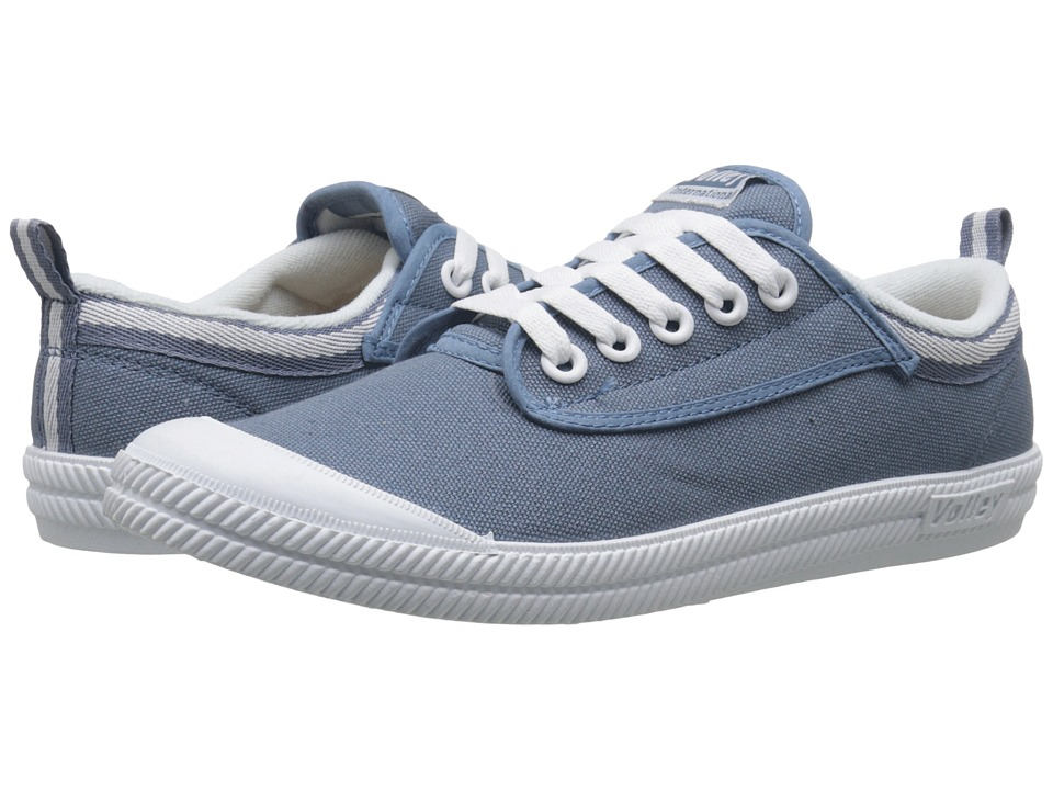 Volley Australia International Linen Cork Slate Blue Athletic Shoes