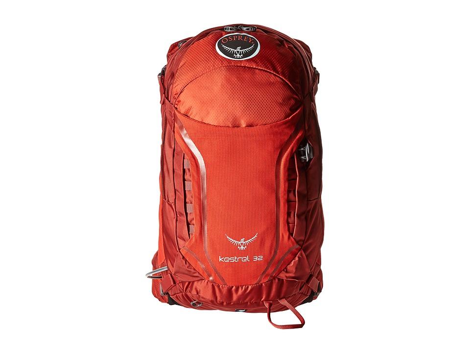 Osprey Kestrel 32 Dragon Red Backpack Bags