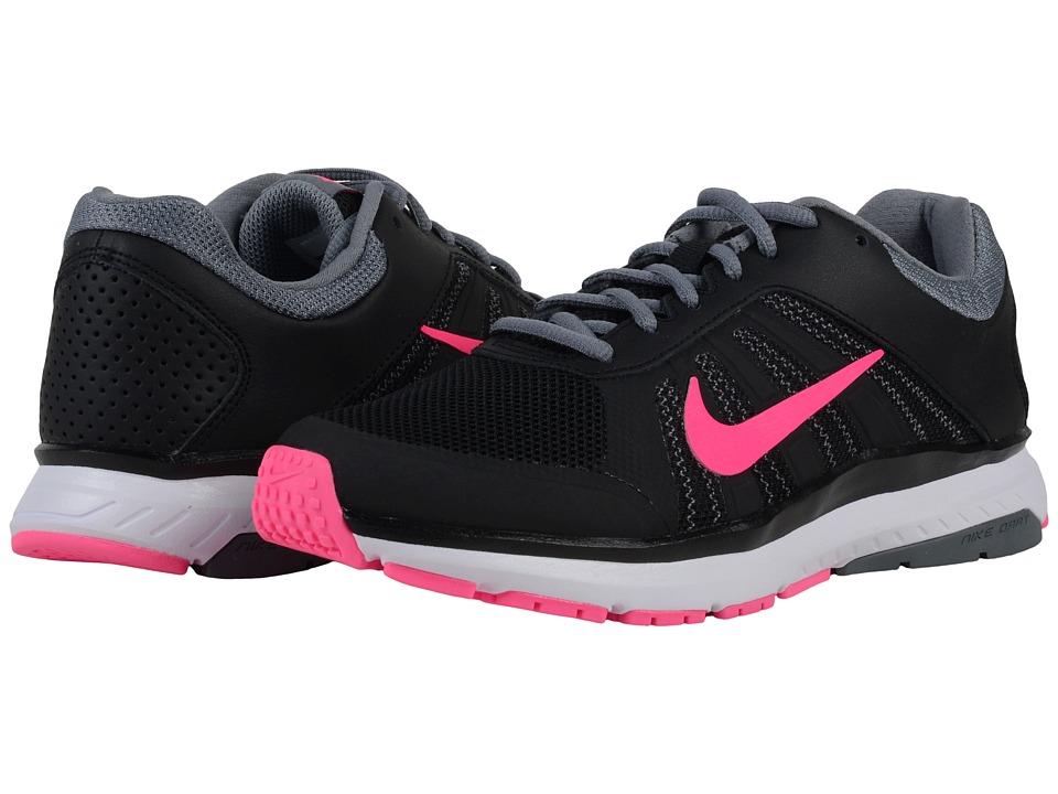 Nike Dart 12 (Black/Cool Grey/Dark Grey/Pink Blast) Women