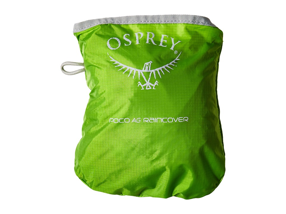 Osprey Poco Rain Cover Electric Lime Wallet