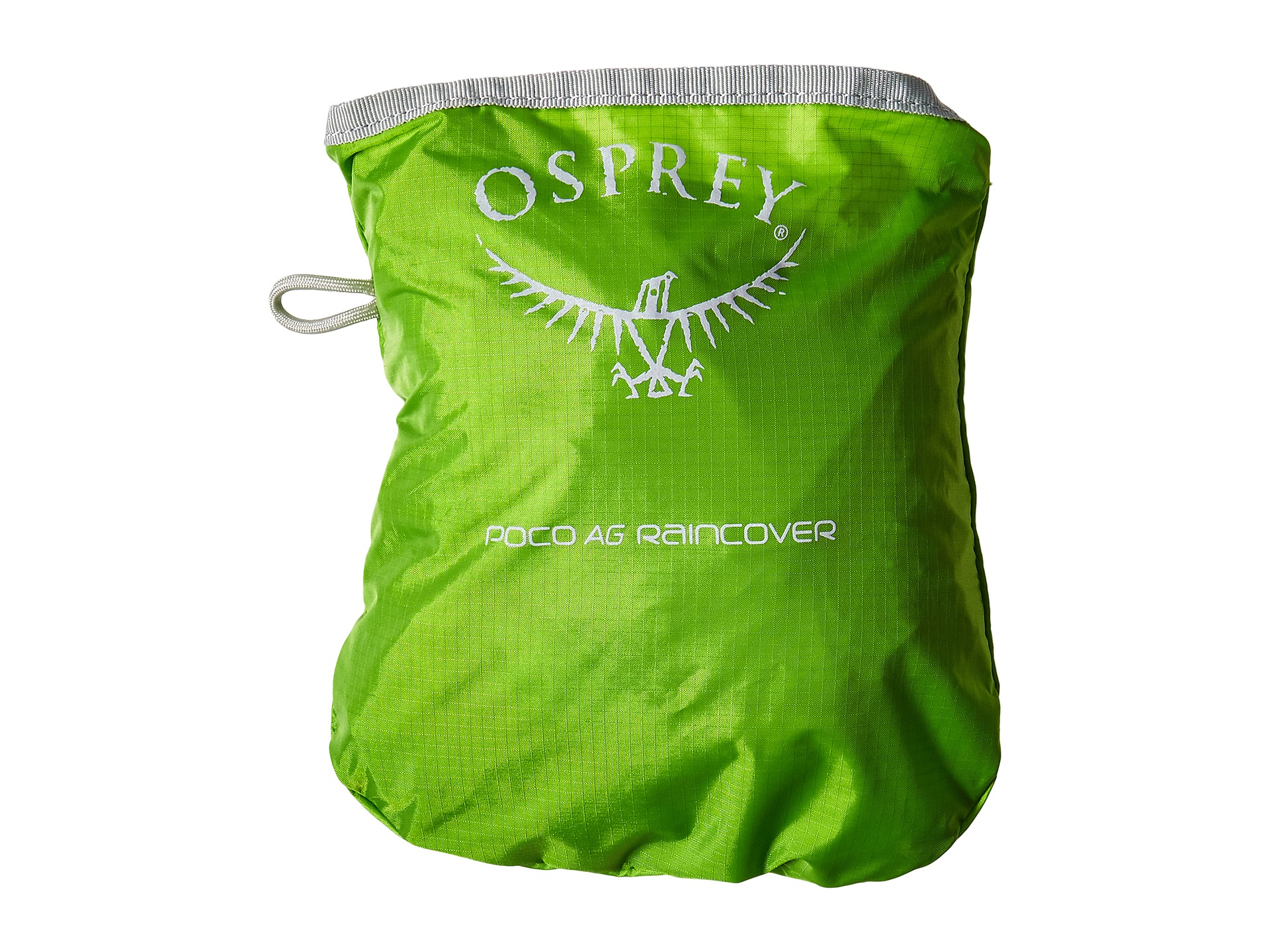 how to put on osprey rain cover