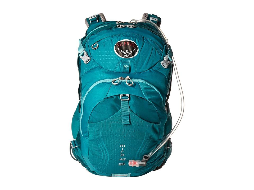 Osprey - Mira AG 26 (Bondi Blue) Backpack Bags