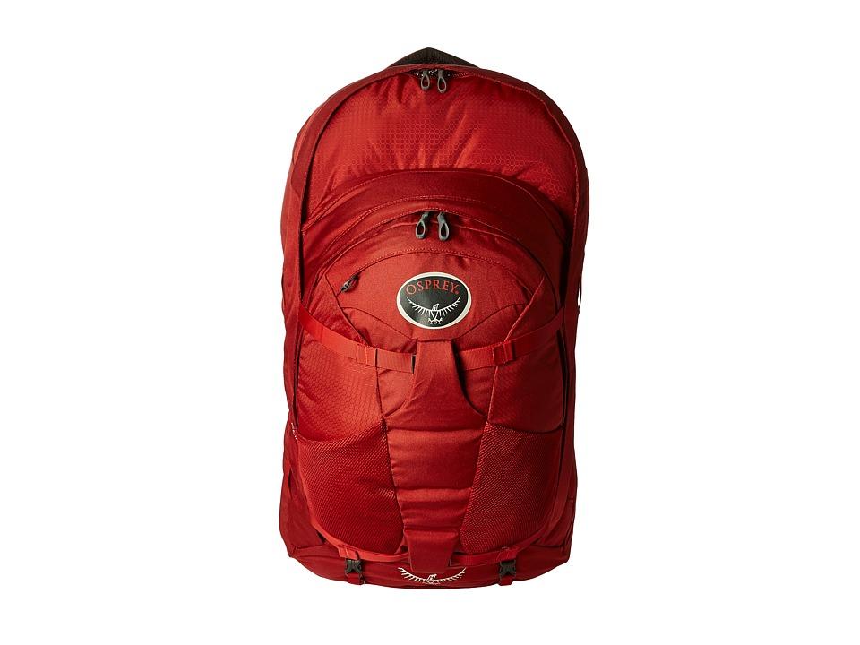 Osprey Farpoint 70 (Jasper Red) Backpack Bags